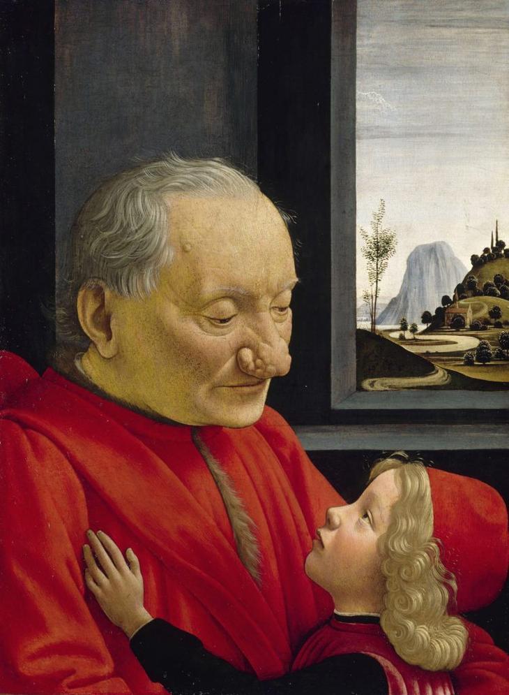 Доменико Гирландайо. Старик с внуком