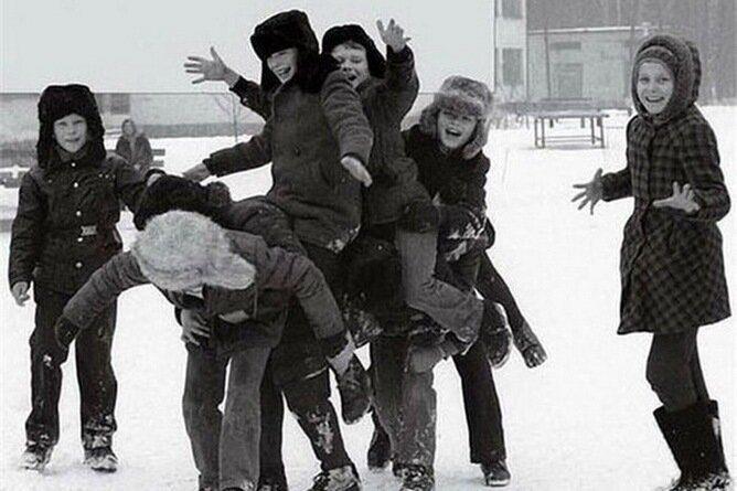 Душевные снимки из нашего советского детства
