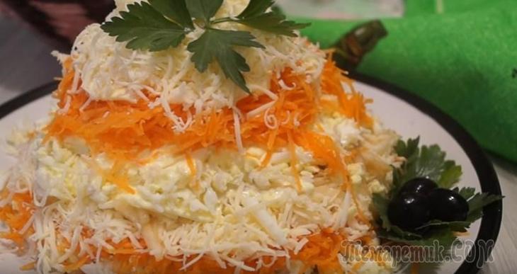 Салат Французсуий за 15 минут / Очень простой и бесподобно вкусны