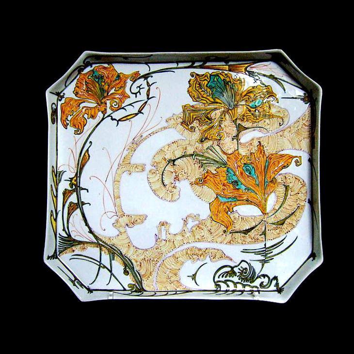 Фарфоровые диковины эпохи Ар Нуво, фото № 24