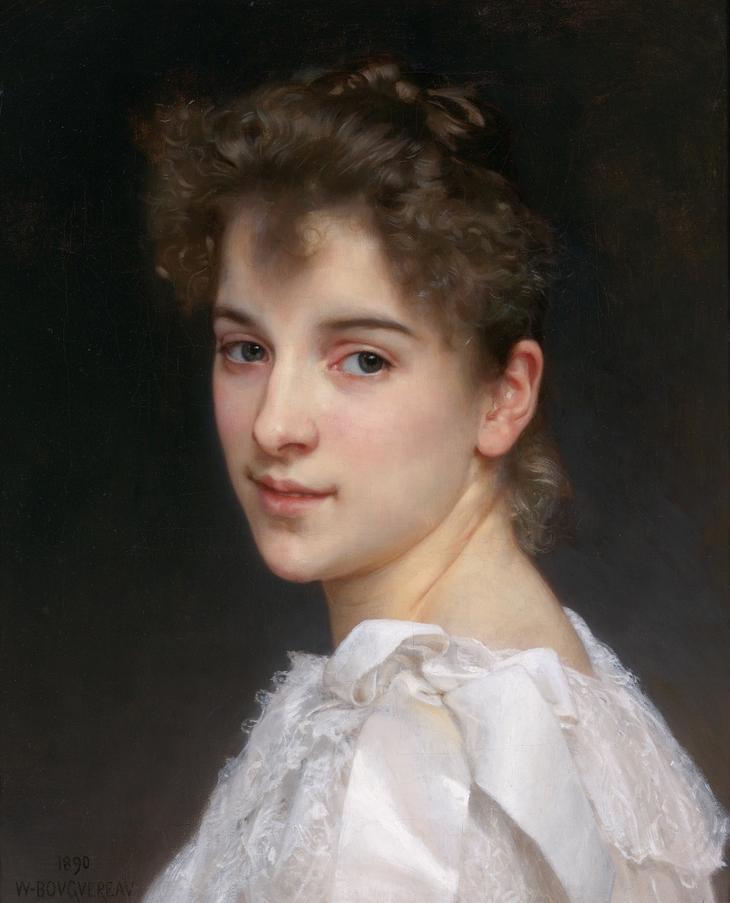 Portrait Gabrielle by Pierre Auguste Cot
