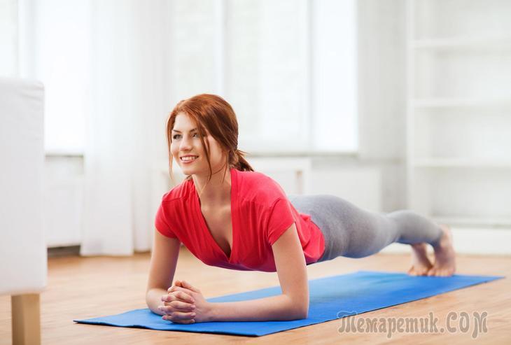 Упражнения для спины и осанки