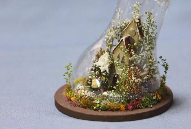 Японская художница и её просто фантастические миниатюры
