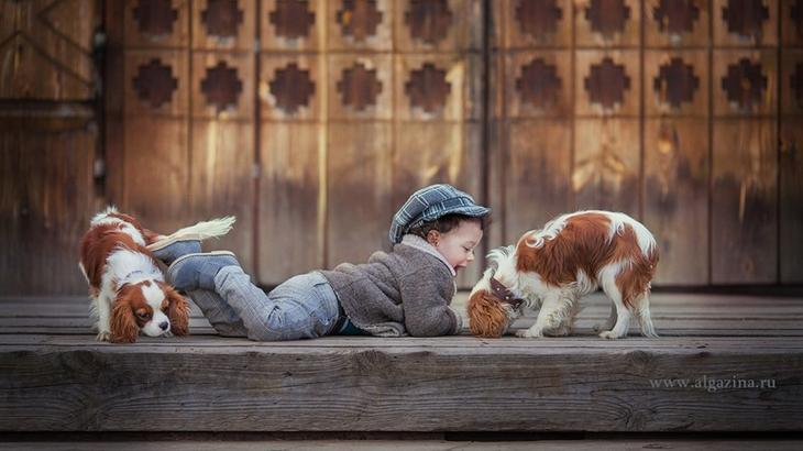 Мир детства в фотографиях Елены Алгазиной