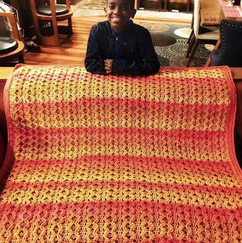 Вязание от 11-летнего мальчика