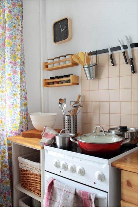 Идеальный порядок на кухне: 14 отменных способов хранить кухонную утварь и продукты