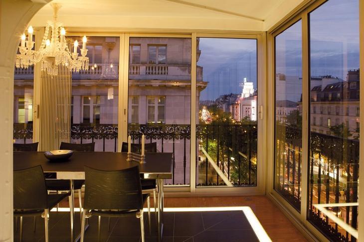 Квартира в центре парижа современный дубай