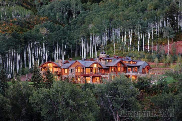 Фамильная резиденция в штате Монтана (США)