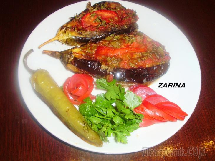 Баклажаны с мясным фаршем по-турецки (Karniyarik-Карныярык)!!Ну очень вкусно!!!