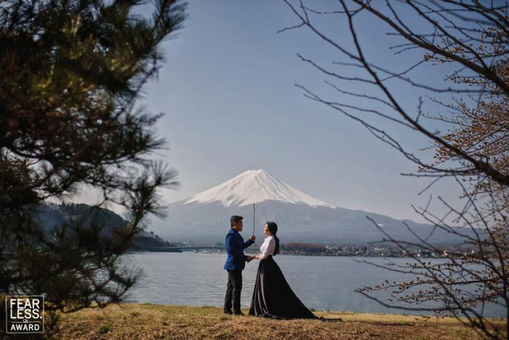 Лучшие свадебные фотографии 2018 года, Fearless Awards