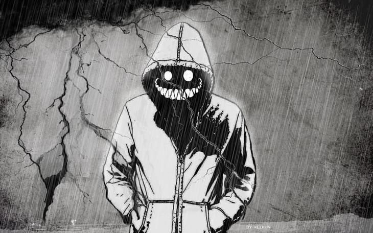 2. Ухмыляющийся Человек загадки, тайны