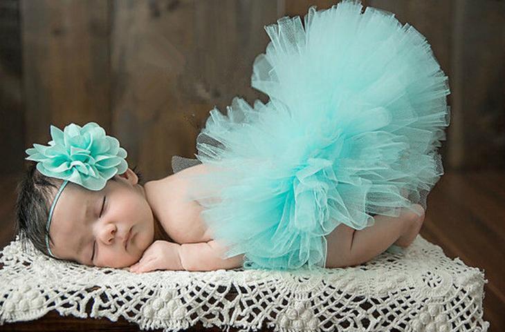 Юбка-пачка для новорожденных своими руками