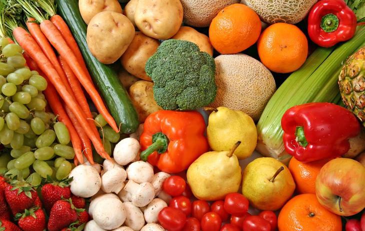 Овощи и фрукты должны стать вашими лучшими друзьями на время чистки