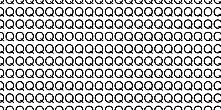 """Для самых внимательных: нужно найти три буквы """"О"""" за 10 секунд"""