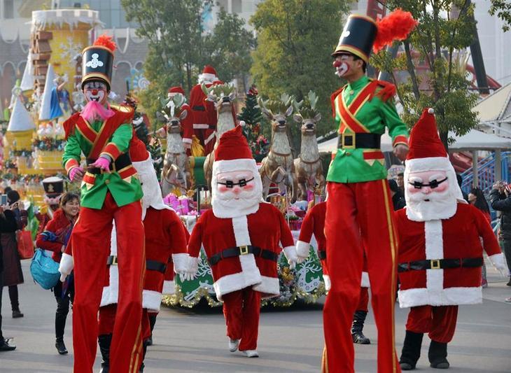 рождество, рождество в разных странах, новогодние праздники, новый год, новый год в разных странах