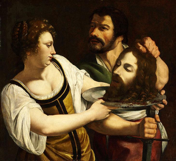 Саломея (ивр. Шломит, 5 год или 14 год — между 62 и 71) — иудейская царевна, дочь Иродиады ((ок. 15 до н. э. — после 39 н. э.) — по сообщению Иосифа Флавия, Иродиада была внучкой Ирода Великого от его сына Аристобула) и Ирода Боэта, падчерица Ирода Антипы (правителя Галилеи и Переи с 4 года до н. э. по 39 год н. э)); впоследствии царица Халкиды и Малой Армении. Одна из персонажек Нового Завета. Согласно некоторым евангелиям, Ирод Антипа планировал казнить Иоанна Крестителя («хотел убить его, но боялся народа, потому что его почитали за пророка» (Мф. 14:5)). Танец юной Саломеи на праздновании его дня рождения привёл к тому, что Антипа согласился выполнить любое её желание, и, будучи научена своей матерью, Саломея потребовала убить Иоанна Крестителя, и после казни ей была принесена на блюде его голова.