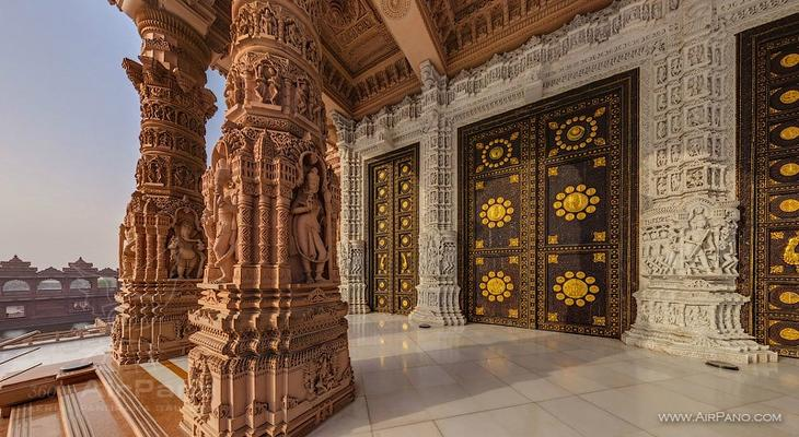 NewPix.ru - Сваминараян Акшардхам - самый большой индуистский храм в мире