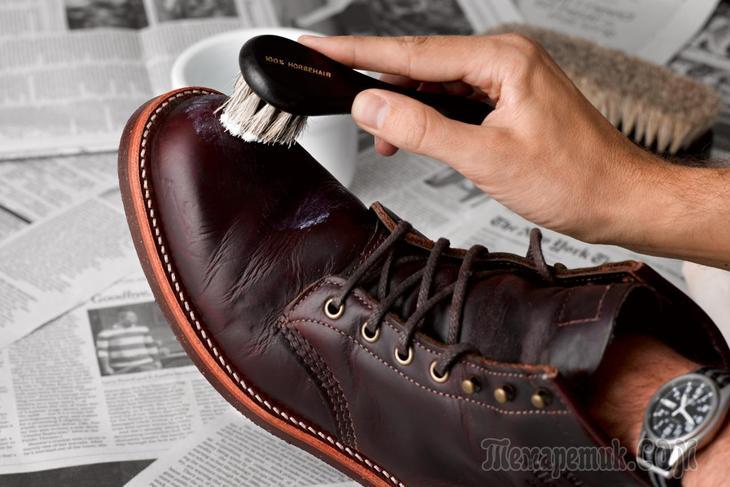 Уход за обувью из нубука в домашних условиях