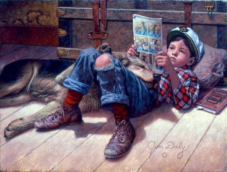 Сентиментальное путешествие в страну детства с Джимом Дейли, фото № 11