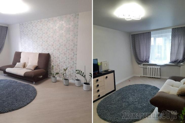 Посмотрите, как семья преобразила «убитую» квартиру