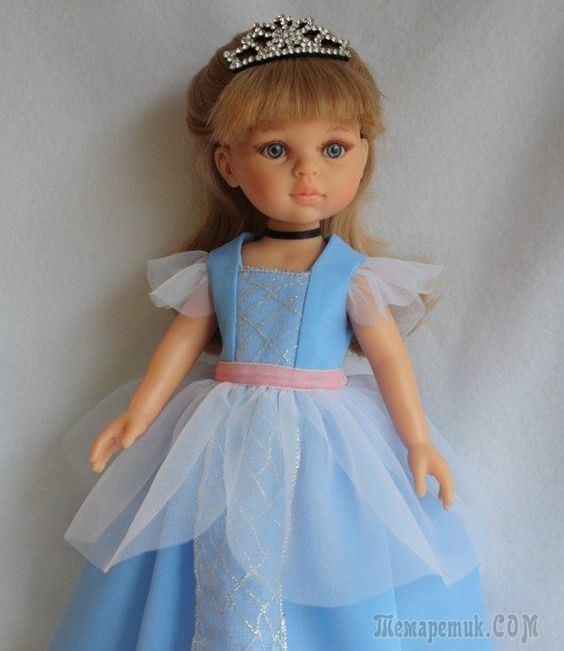 33 выкройки одежды и обуви для куклы Паола Рейна