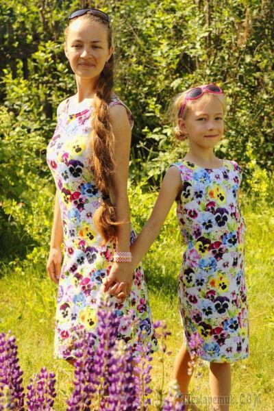 Как быстро сшить простое платье своими руками без выкройки