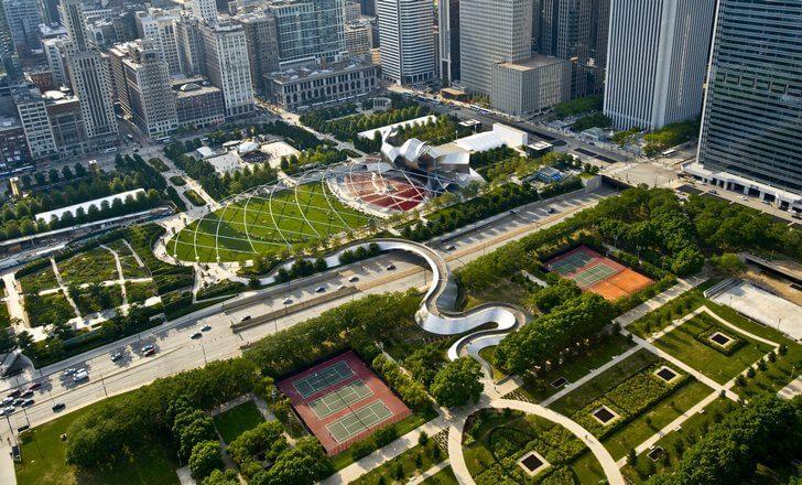 Чикаго. Достопримечательности города, фото с названиями, описанием. Иллинойс, США    Чикаго иллинойс достопримечательности
