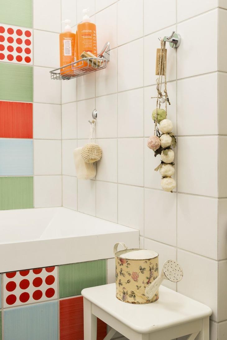 Фотография: Ванная в стиле Кантри, Классический, Проект недели, Москва, Ирина Ковылина, 3 комнаты, Более 90 метров, монолит – фото на InMyRoom.ru
