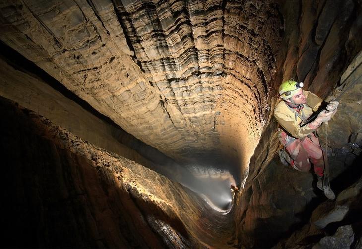 «Пещера головокружения» Вртоглавица в Юлийских Альпах