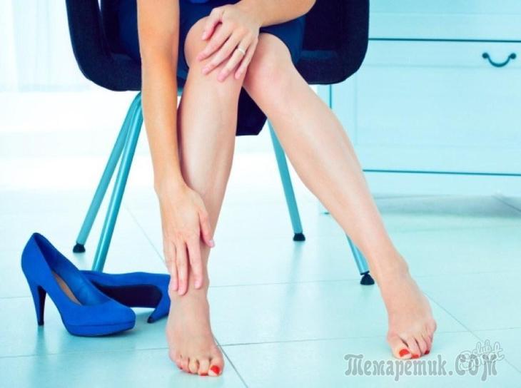 Почему отекли ноги