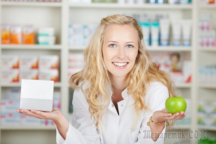 Здоровая пища может быть лекарством