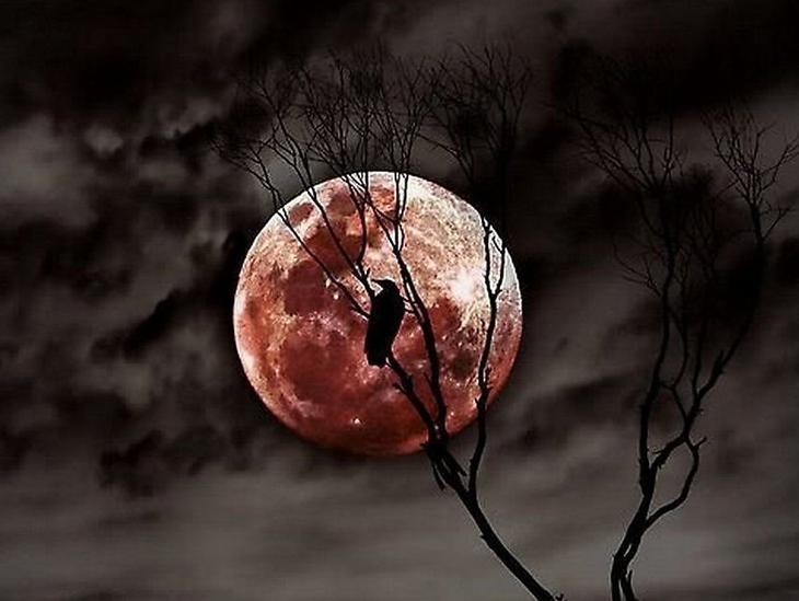 Почему Луна становится красной приметы обряды и суеверия