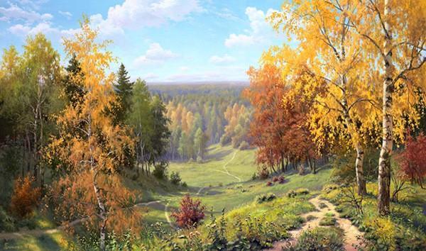 Чарующие пейзажи России в творчестве Игоря Прищепы