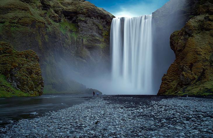 Водопад Скоугафосс