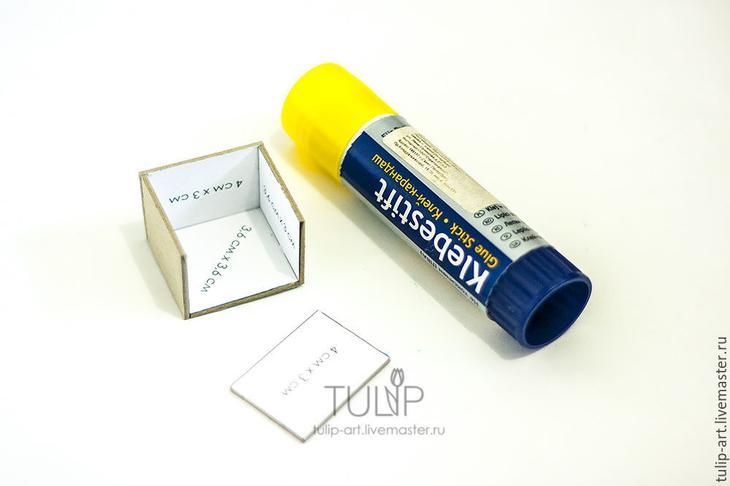 Мастер-класс: как создать подарочную коробочку для кольца, фото № 5