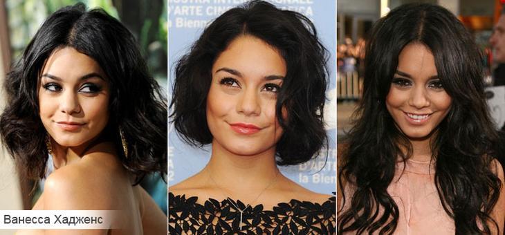 Как подобрать стрижку для вьющихся волос на примере Ванессы Хадженс