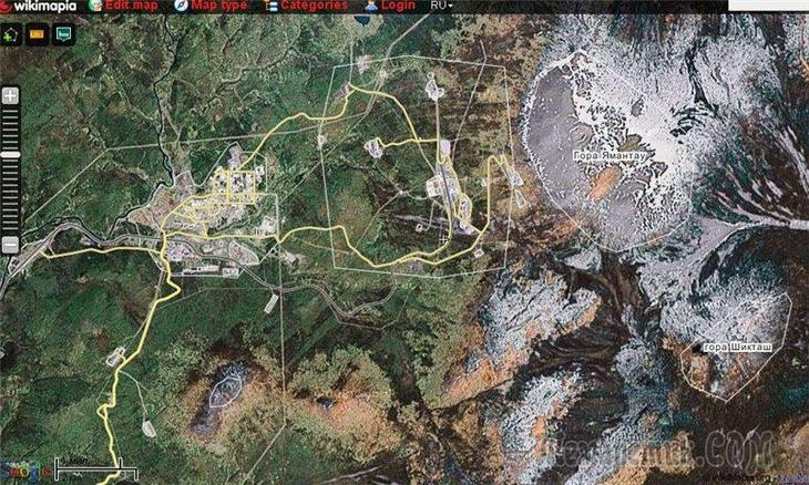 ямантау подземный город бункер