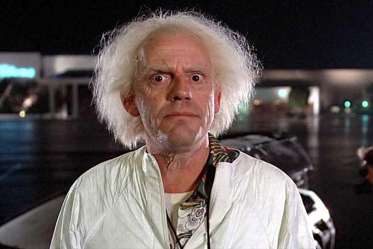 Загадка дня: сколько смартфонов можно зарядить одновременно?Back to the Future (1985) screenshot from video