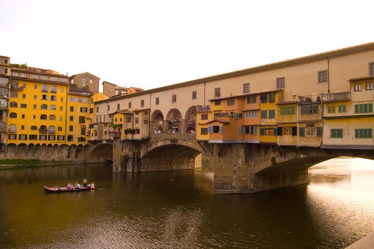 жилой мост Понте Веккио