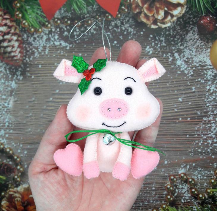 fullsize Символ года 2019 Свинка Поросенок своими руками фото