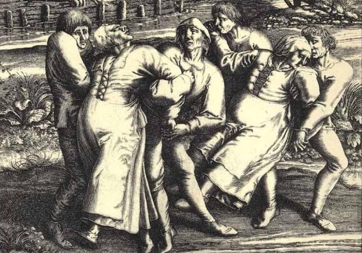 """""""Танцующая смерть"""" 1518 года загадки, захватывающе, истории, тайны"""