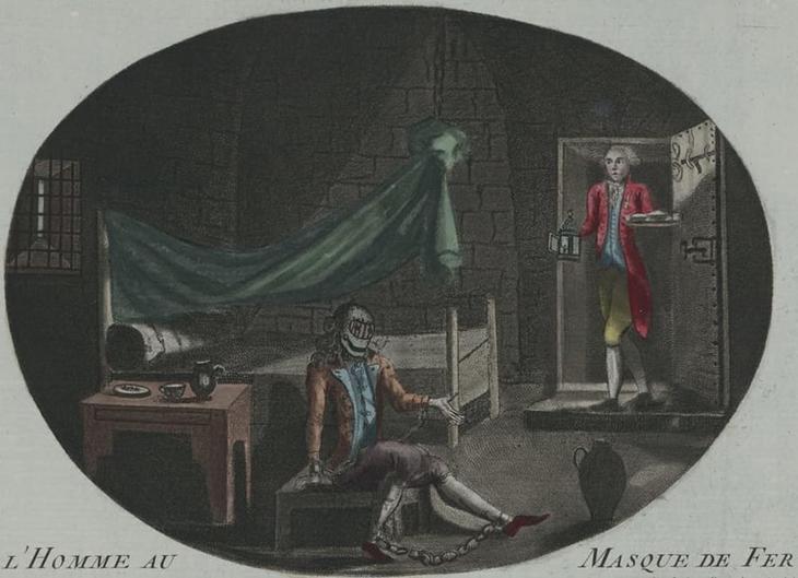8. Человек в железной маске загадки, тайны