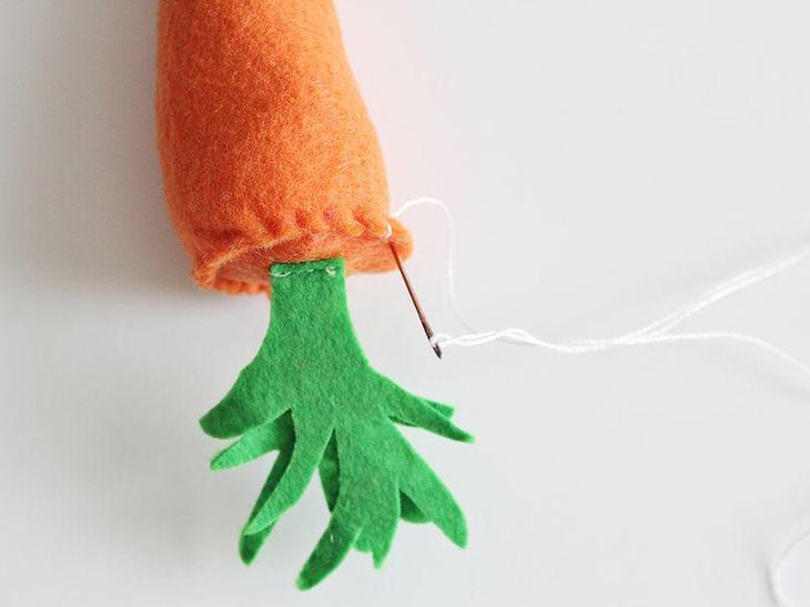 Как сшить морковку