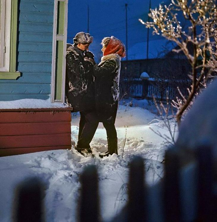 Зима в СССР