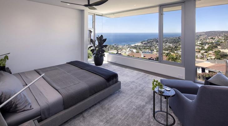 Ellis Residence, McClean Design, роскошные дома Калифорнии, обзоры особняков в Калифорнии, дом с видом на океан, дом на вершине горы, элитный особняк