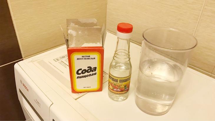 Как почистить стиральную уксусом и содой