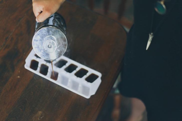 как использовать формы для льда