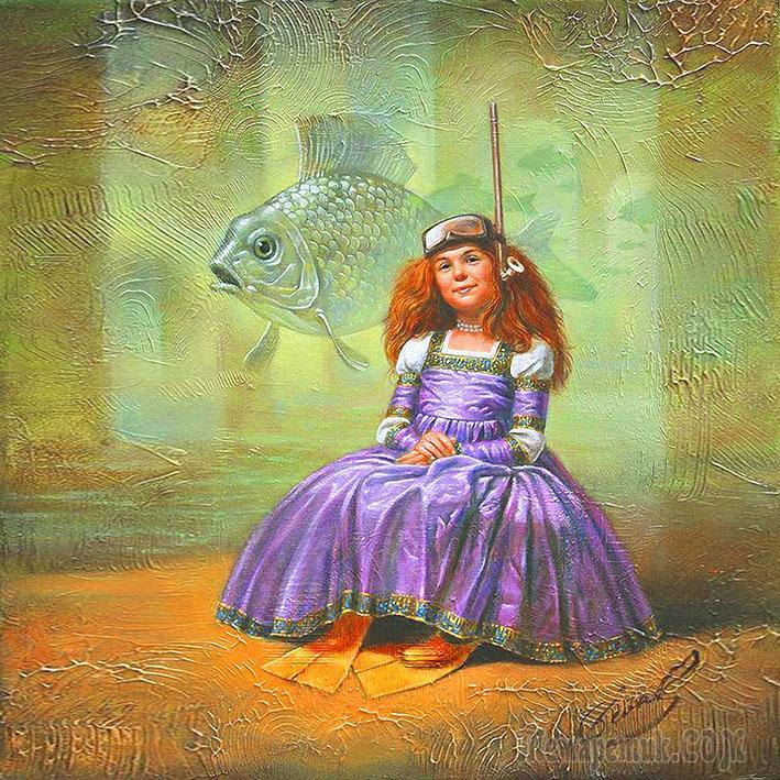 Сказка  про  рыбок,  розы  и  жизненные  пути (Стих)
