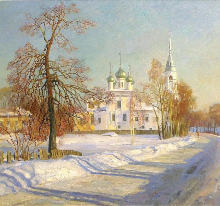 художник Олег Бороздин картины – 23