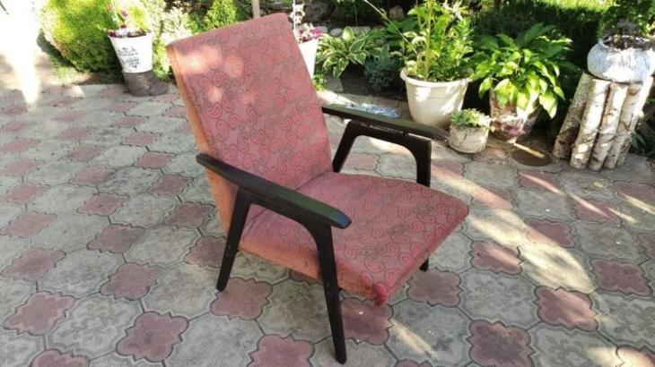 Реставрация старого советского кресла
